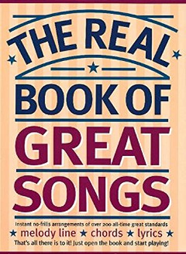 9780711973367: The Real Book Of Great Songs