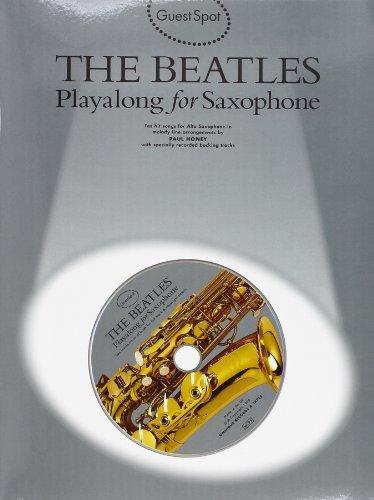 9780711973442: GS BEATLES PLYALONG SAX+CD (Guest Spot)