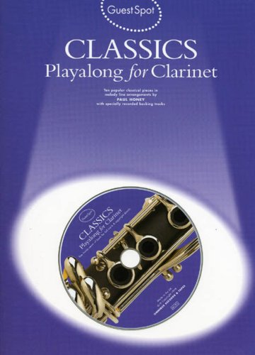 9780711973596: Guest Spot: Classics Playalong For Clarinet
