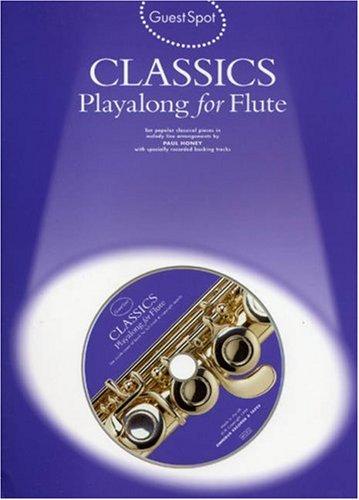 9780711973602: Guest Spot: Classics Playalong for Flute (Guest Spot Series)
