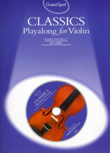 9780711973619: Guest Spot: Classics Playalong for Violin +CD