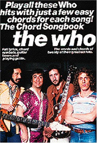 9780711974050: The Who Chord Songbook