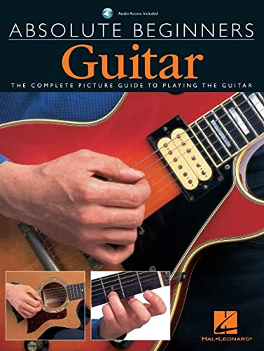 9780711974289: Absolute Beginners Guitar: The complete picture guide to playing the Guitar (includes CD)