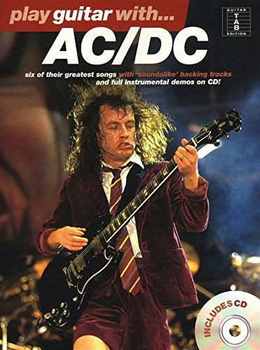 9780711974340: Ac/Dc Play Guitar With CD Tab