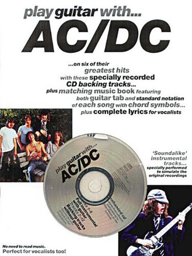 9780711974340: Partition : AC/DC play guitar with + CD