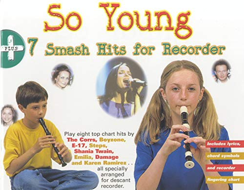 9780711974807: The So Young 7 Smash Hits for Recorder: Drum or Drumset