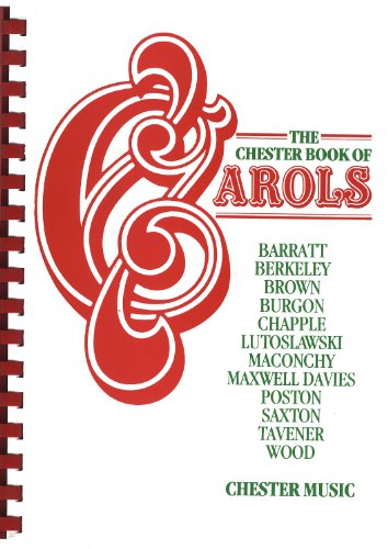 9780711975279: VARIOUS THE CHESTER BOOK OF CAROLS - MOSTLY UNACCOMPANIED SATB (Guitar Anthology Series)