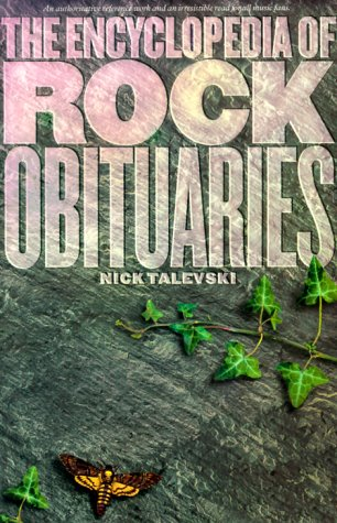 9780711975484: The Encyclopedia of Rock Obituaries