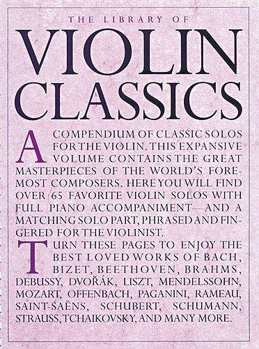 9780711975910: Library Of Violin Classics