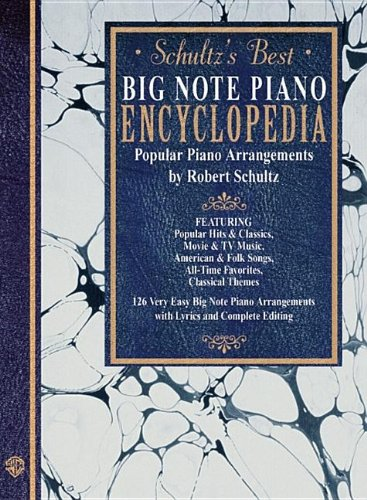 9780711976542: Schultz's Best Big Note Piano Encyclopedia