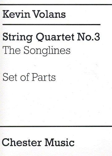 Kevin Volans Movement For String Quartet Parts String Quartet SHEET MUSIC BOOK