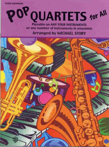 9780711977136: Pop Quartets for All: Tenor Saxophone (Instrumental Ensembles for All)
