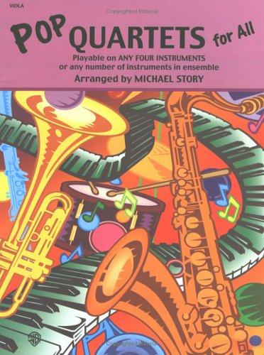 9780711977181: Pop Quartets for All: Viola (Instrumental Ensembles for All)