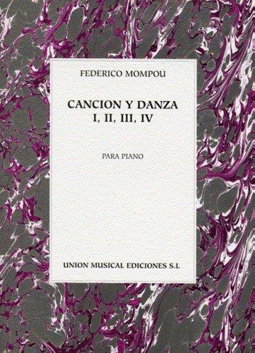 9780711977303: Federico Mompou: Cancion Y Danza I, II, III, IV