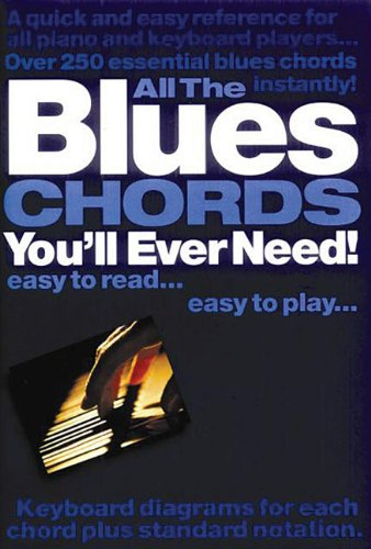 9780711977709: All the Blues Chords You'll Ever Need