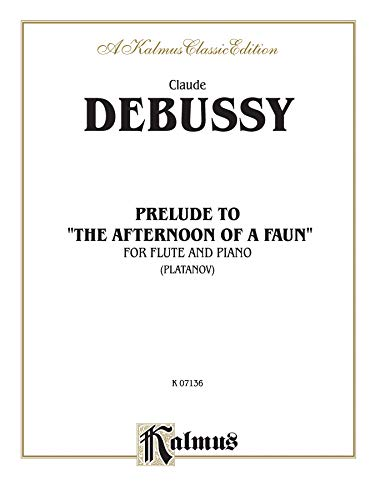 """Prelude to """"Afternoon of a Faun"""": Part(s) (Kalmus Edition): Alfred Music"""