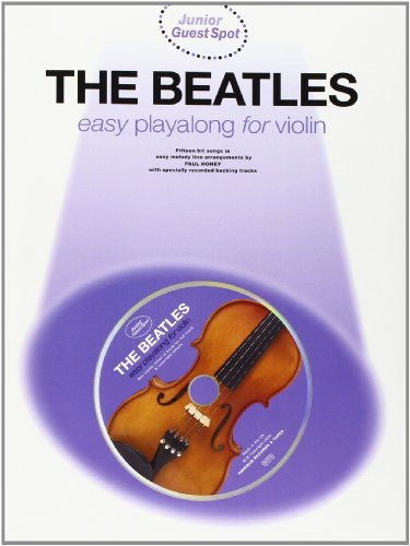 9780711978089: Junior Guest Spot: The Beatles - Easy Playalong (Violin)