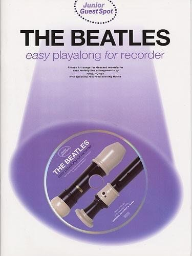 9780711978096: Junior Guest Spot: The Beatles - Easy Playalong (Recorder)