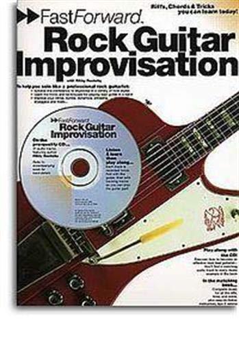 9780711978317: Fast Forward Rock Guitar Improvisation Book/Cd (Fast Forward (Music Sales))
