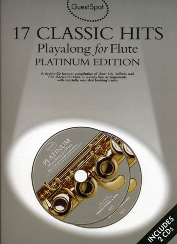 9780711978423: Guest Spot: 17 Classic Hits Playalong for Flute Platinum Edition