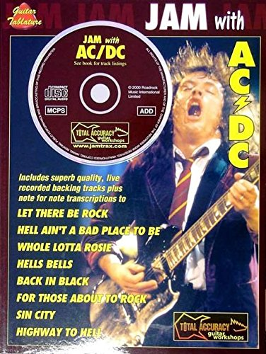 9780711979116: JAM WHIT AC/DC + CD (Jam With The Guitar Greats)