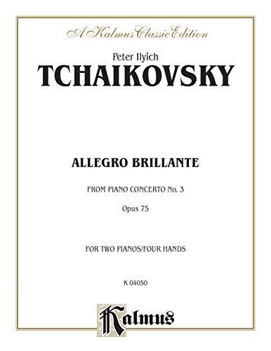 9780711979130: Piano Concerto No. 3, Op. 75, (1st Movement Only) (Allegro Brillante) (Kalmus Edition)