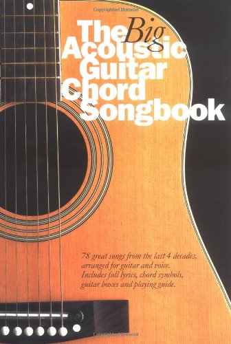 9780711979949: The Big Acoustic Guitar Chord Songbook Lyrics & Chords Books