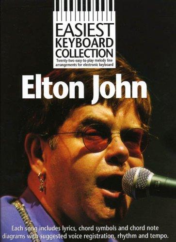9780711980037: EASIEST KEYBOARD COLLECTION ELTON JOHN MLC