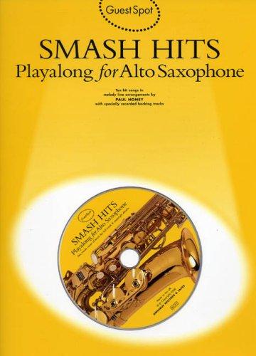 9780711980655: Guest Spot: Smash Hits Playalong for Alto Saxophone