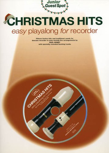 9780711980754: Junior Guest Spot: Christmas Hits - Easy Playalong (Recorder) +CD