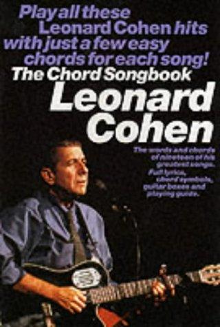 Leonard Cohen: Chord Songbook