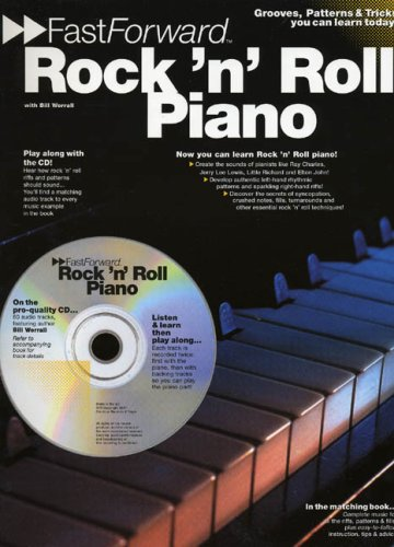 9780711981294: Rock 'N' Roll Piano: Grooves, Patterns & Tricks You Can Learn Today! (Fast Forward (Music Sales))