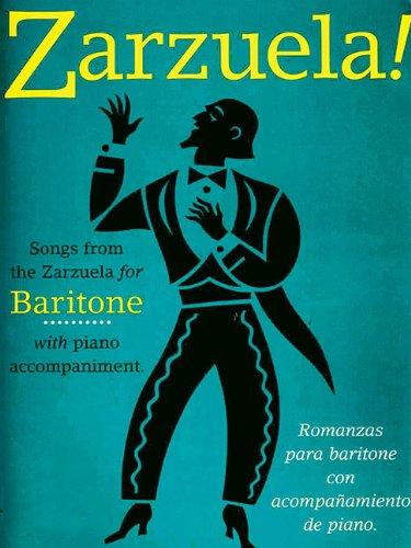 9780711981553: Zarzuela!: Baritone (Music Sales America)
