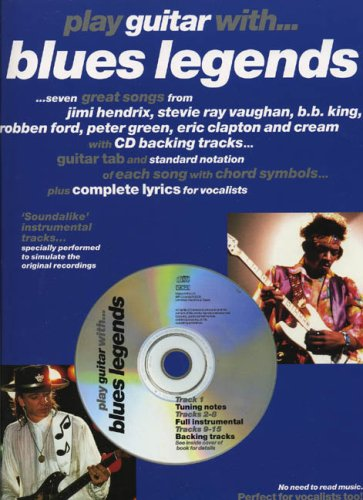9780711981911: Play Guitar with... Blues Legends