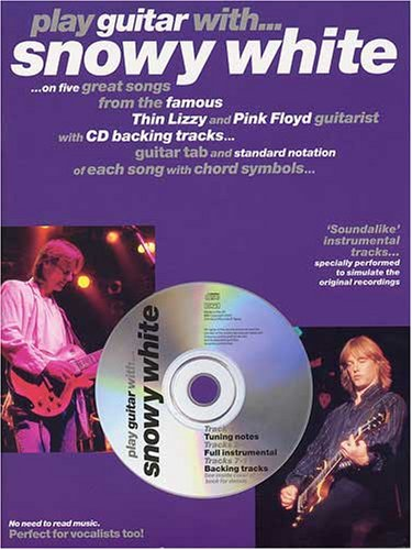 9780711981980: PLAY GUITAR WITH... SNOWY WHITE TAB BOOK/CD