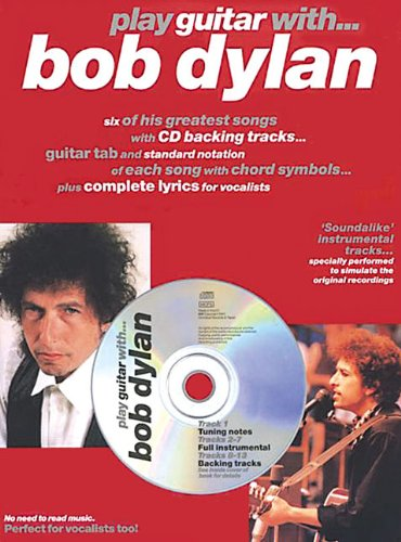 9780711982178: PLAY GUITAR W BOB DYLAN BK/CD (London)