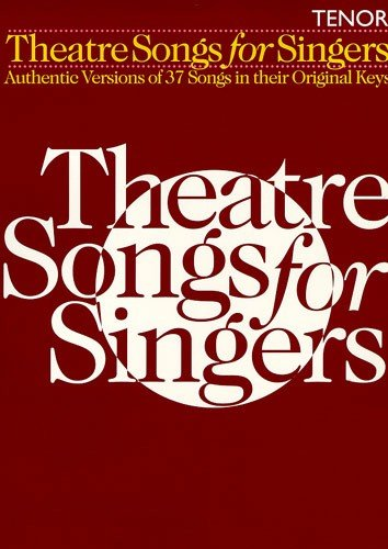 9780711982574: Theatre Songs for Singers: Tenor