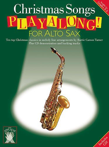9780711983045: Applause: Christmas Songs Playalong for Alto Sax