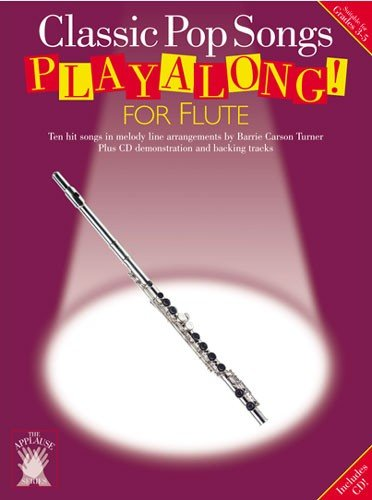 9780711983168: APPLAUSE CLASSIC POP SONGS PLAYALONG FOR FLUTE FLT BOOK/CD