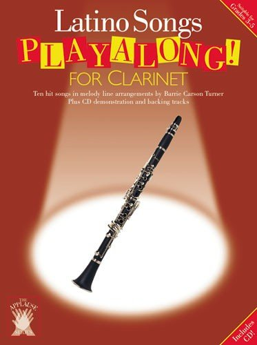 9780711983274: Applause: Latino Songs Playalong for Clarinet