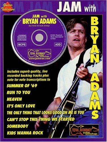 9780711983601: Jam With Bryan Adams (Book & CD)