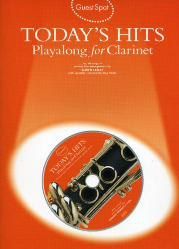 9780711983625: Guest Spot: Today'S Hits Playalong for Clarinet +CD