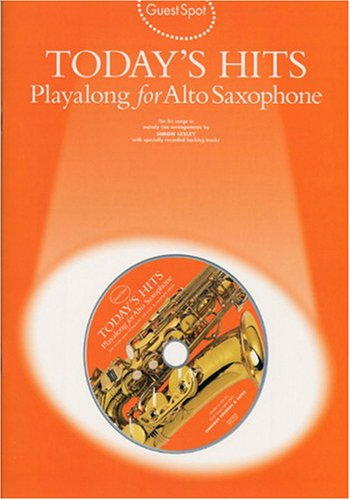9780711983632: Guest Spot: Today's Hits Playalong for Alto Saxophone