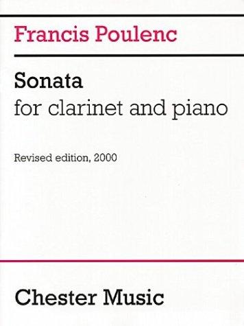 9780711983854: Francis Poulenc: Sonata for Clarinet and Piano