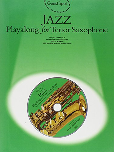 9780711984240: Guest Spot: Jazz Playalong for Tenor Saxophone
