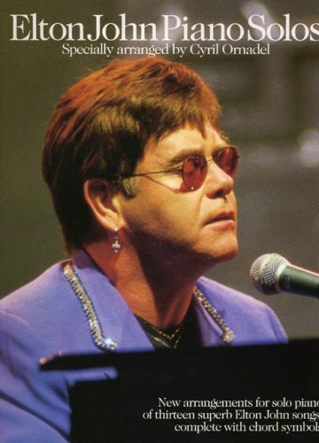 9780711984356: Elton John: Piano Solos