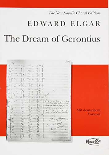 9780711984608: Dream of Gerontius: Op.38: New Novello Choral Edition