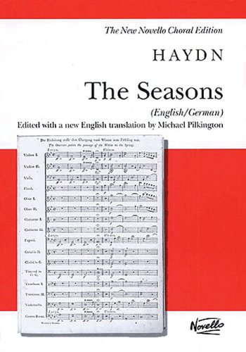 9780711984646: THE SEASONS VOCAL SCORE NEW ENGLISH/GERMAN