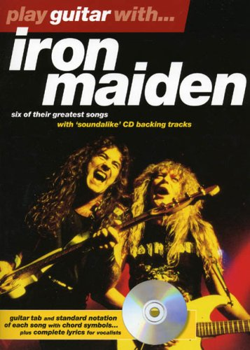 9780711984905: Play Guitar With... Iron Maiden