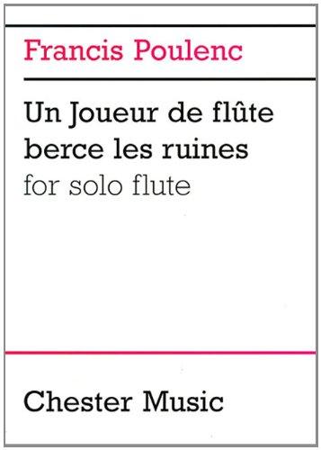 9780711984936: POULENC UN JOUEUR FLUTE BRECE RUINES FLUTE